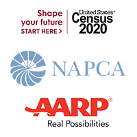 NAPCA parners with Census 2020 and AARP