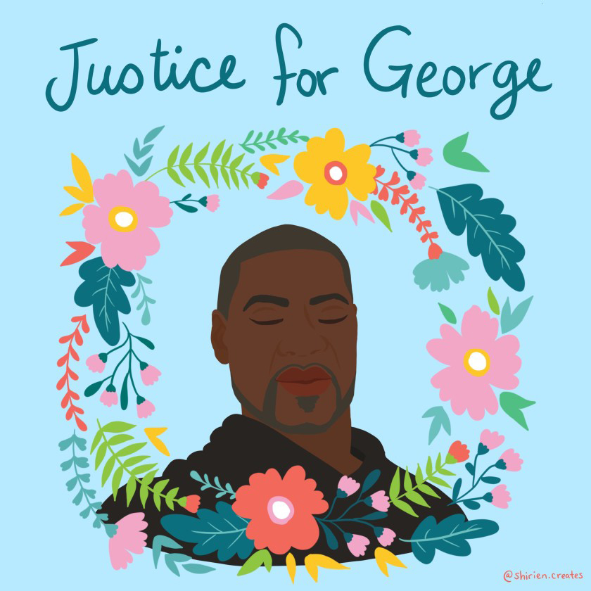 Our call to action for George Floyd